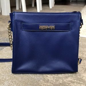 Kenneth Cole Reaction royal blue small cross body